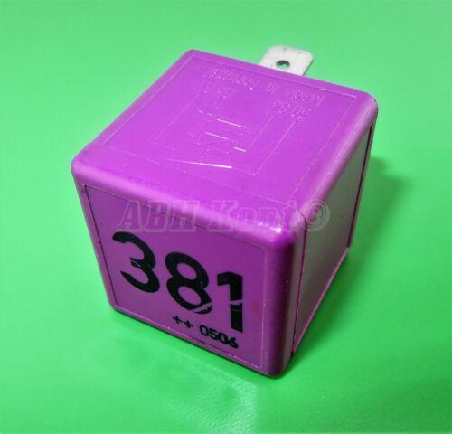 441-Audi VW Purple-381 Multi-Use 4-Pin SN7 Relay 431951253G Tyco V23134-B52-X372