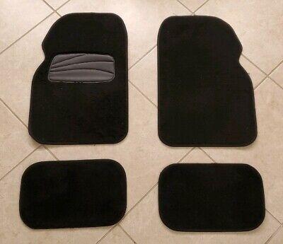 Fit 09-11 Corolla OE Factory Fitment Floor Mats Carpet Front/&Rear Nylon Black