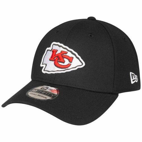 New Era 39Thirty Stretch Cap Kansas City Chiefs schwarz