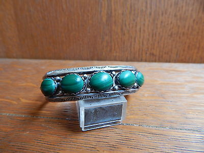 Smaller Wrist Navajo Cuff Bracelet Louise Yazzie Turquoise