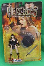 Hercules Legendary Journeys Xena Warrior Princess Figure ToyBiz New on Card 1995