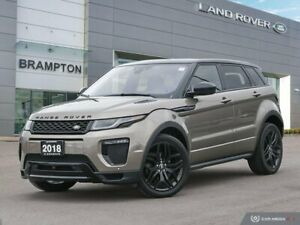 2018 Land Rover Range Rover Evoque 237hp HSE DYNAMIC *CPO WARRANTY INCLUDED*