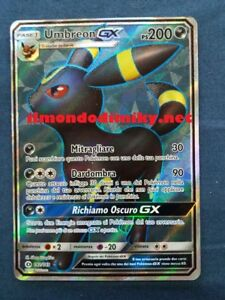 Pokemon-UMBREON-GX-142-149-SOLE-e-LUNA-RARA-SEGRETA-FULL-ART-ITA