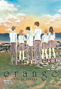 éNergique Orange 5-allemand-willard Manga-article Neuf-afficher Le Titre D'origine Paquet éLéGant Et Robuste