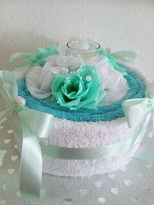 Süßes Geldgeschenk Handtuchtorte  Geburtstag