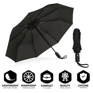 Folding Umbrella Rainproof /& Windprrof Umbrella Natural Scenery Custom Umbrella Automatic