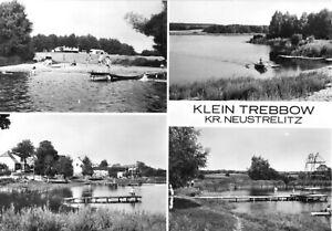 AK, Klein Trebbow Kr. Neustrelitz, Am Klügersee, vier Abb., 1985