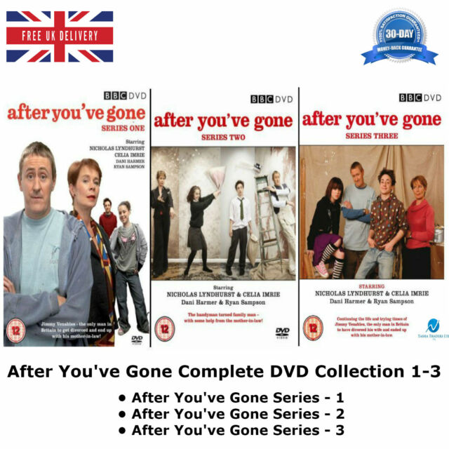 After You've Gone Series 1-3 Complete BBC Comedy Collection 1 2 3 UK R2 DVD