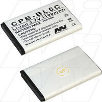 3.7v 1.1ah Replacement Battery Compatible With Liquid Image Model 55