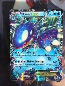Carte Pokemon KYOGRE EX 54/160 Ultra Rare Carte pokémon FR - France - État : Occasion: Objet ayant été utilisé. Consulter la description du vendeur pour avoir plus de détails sur les éventuelles imperfections. ... - France