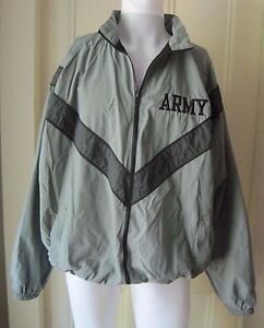 Heren Windjack Army Military Vented Pt Lt Ons Uniform Physical Fitness YATwqC
