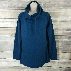 32 DEGREES Womens French Terry Funnel Neck Tunic