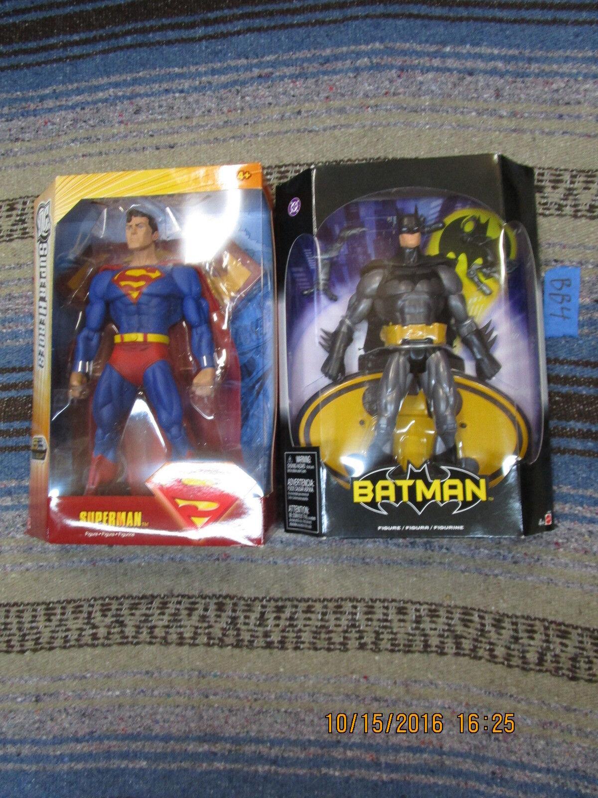 DC Univers Classique Lot SUPERMAN & BATMAN 12  géants de la justice S3 Sélectionnez sculpter