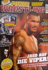Power Wrestling Oktober 10/2011 WWE WWF + 4 Poster (Sting, Edge, Sin Cara, NOC)