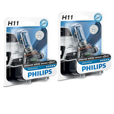 Philips H11 12V 55W PGj19-2 WhiteVision Xenon Effect 3600K 2 ST 12362WHVB1 +TOP+