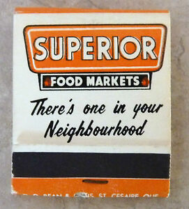 Vintage-Match-Book-Superior-Food-Markets-Serving-You-Better-Saving-You-More