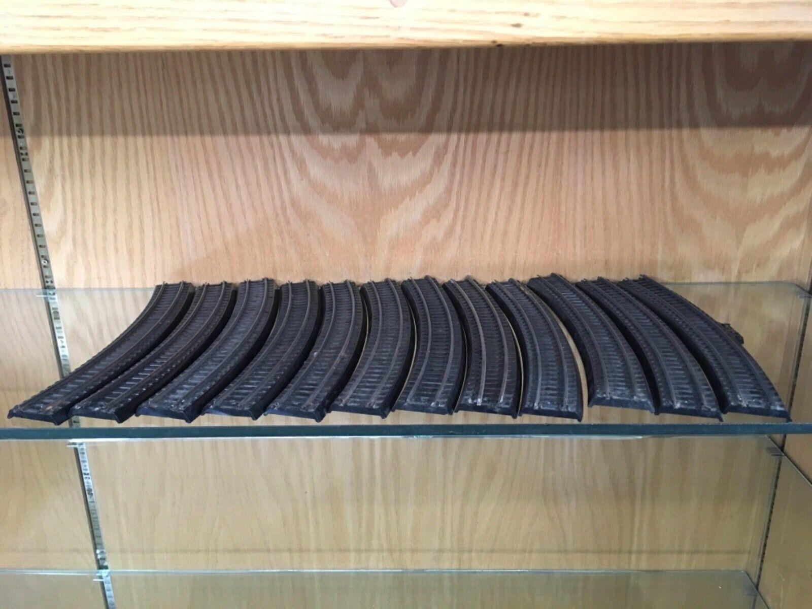 Lionel OO 00 calibre 11 X 0031 y 1 Cocheril piezas 2 X 0034 Pista Curvada