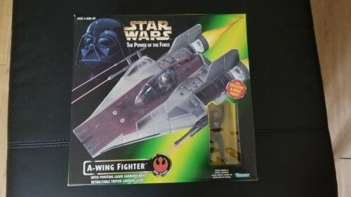 Star Wing Wars Power Of The Force POTF A Wing Star ac2649