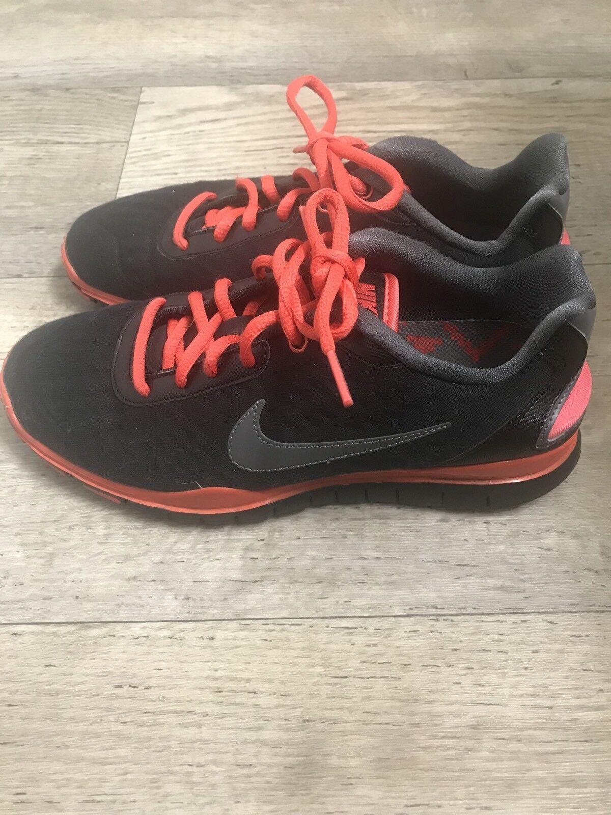 nike et libre tr luxe 2,0 femmes est noir et nike orange formation basket chaussures taille 8 7b7183