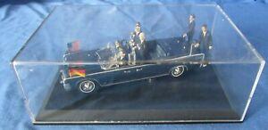Minichamps-Diecast-modelo-Lincoln-Continental-X-100-desfile-presidencial-1963-coche