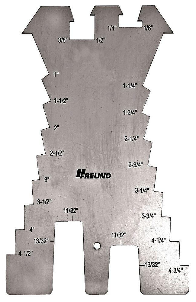 FREUND TOOLS NO. 01133000 SHEET METAL SCRIBE  STAINLESS STEEL