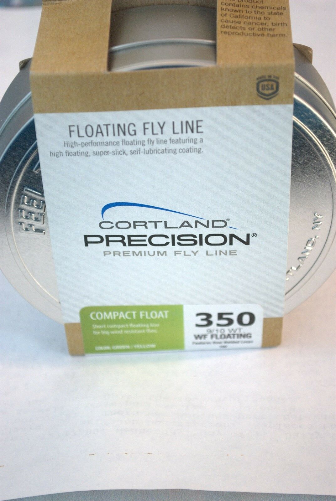 Cortle Precision Premium Fly Line Compact Float 910 Weight