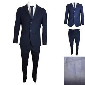 Primaverile Abito Classico Fit Vestito Blu Slim Cerimonia Uomo Elegante Completo zTzxFWUqn