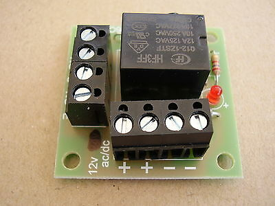 5 x 12v ac//dc Handy little Relay board ideal for security Systems