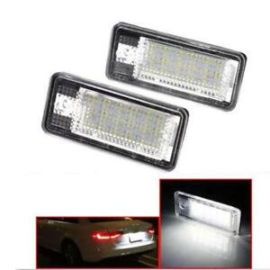 2x 18 LED Error Free License Plate Light Tail Lamp For Audi A3 A4 B6 B7 A6 A8 Q7