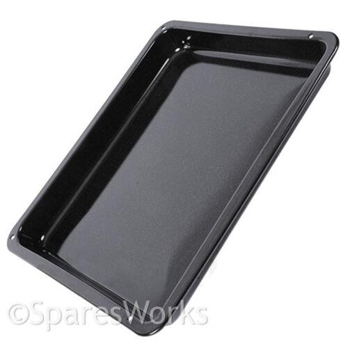 Zanussi four cuisinière plateau d/'égouttement pan noir émaillé véritable pièce de rechange