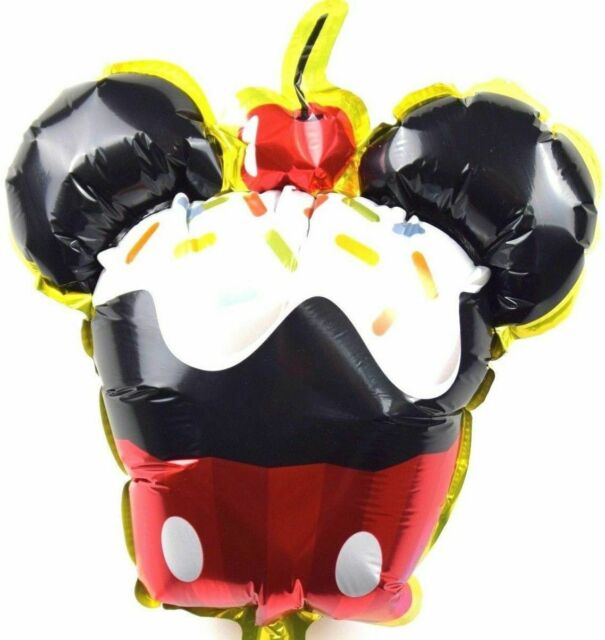 3 Stück Kein Helium Ballon Disney Folienballons Micky Maus Kinder Geburtstag