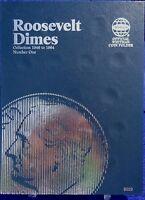Whitman Roosevelt Dime 1 1946-1964 Coin Folder, Album Book 9029