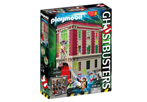 Playmobil Ghostbusters 9219 Ghostbusters Firehouse MIB New
