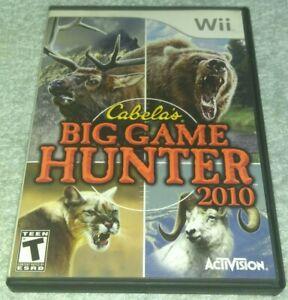 Nintendo-Wii-Cabelas-Big-Game-Hunter-2010-Shooter-complete
