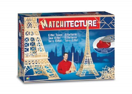 Matkitecture 6611 –Tour Eiffel Allumettes Bois Kit Mod 65533;65533;lisme --------------------------------------- -FRAR5533;.