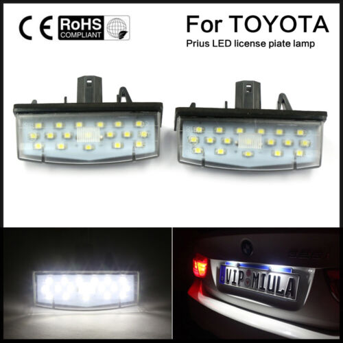 LED Number License Plate Light Fit For TOYOTA MATRIX AZE14 PRIUS VENZA