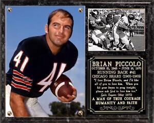Brian Piccolo  41 Chicago Bears Running Back Photo Plaque Monsters ... 8dea97ab0
