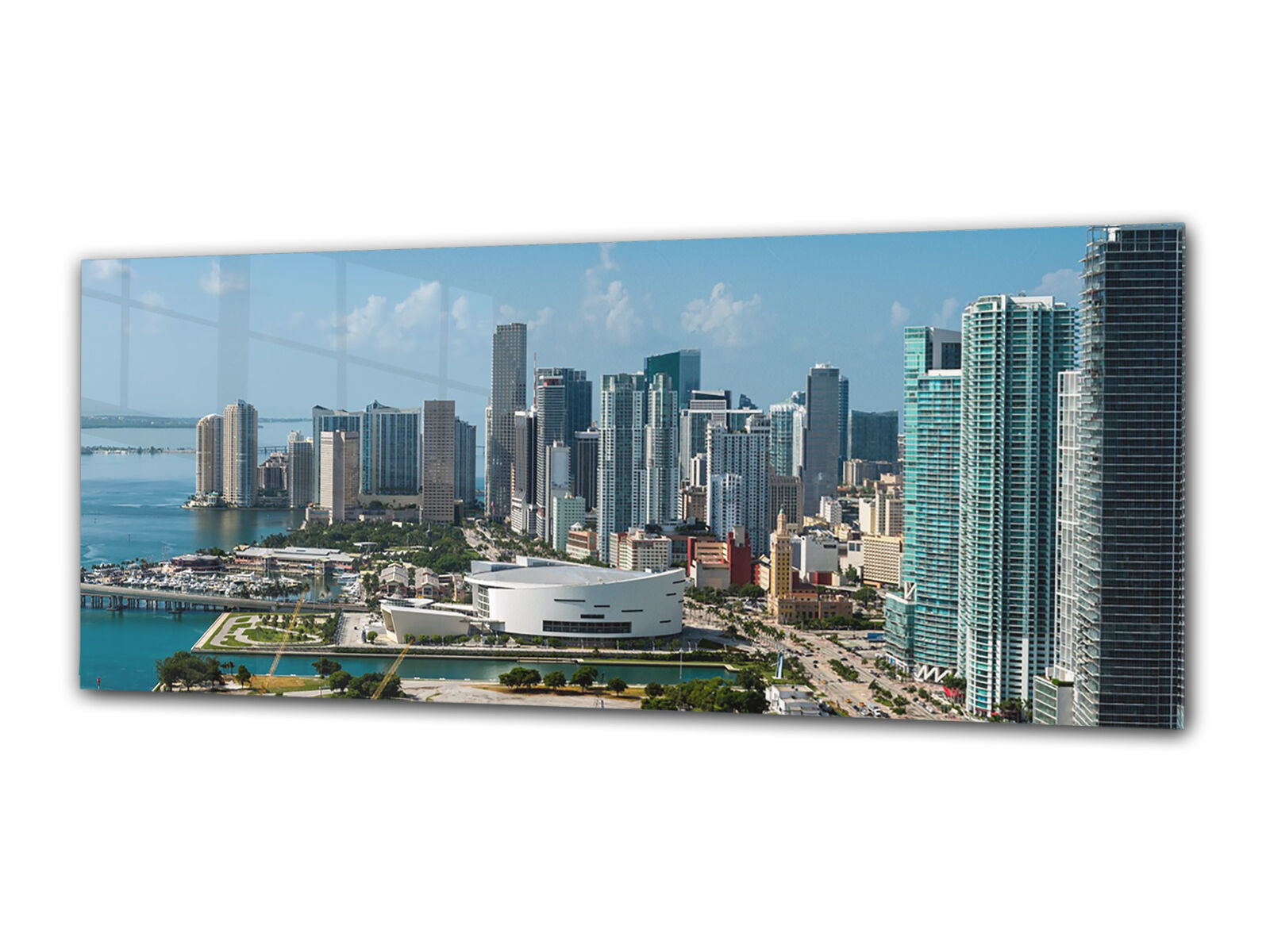 Glass Print Wall Art 80x30 cm Image on Glass Decorative Wall Picture 44182157