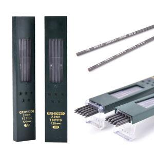 10-STUCKE-Automatische-Druckbleistiftmine-HB-2B-Blei-Schulbedarf-2-0mm-FL