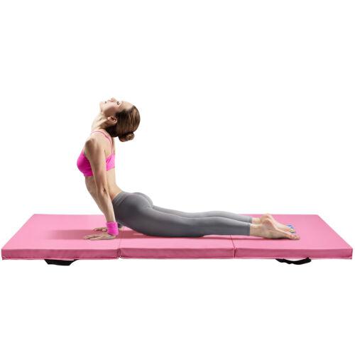 Birthday Gifts Gymnastics Mat Thick Folding 3 Panel Gym Fitness Aerobics Yoga