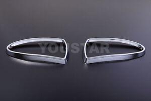 NEW FOG LIGHT Chrome Rings Trims for Jaguar S-type Pre LCI 98-02 XJ X350 04-07