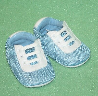 Trumpette Too Baby Shoes Sneakers Green White Play Tennis Shoes NIB SO CUTE
