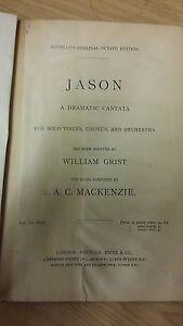 Acheter Pas Cher Mackenzie: Jason: Musique (l5)-afficher Le Titre D'origine Belle En Couleur