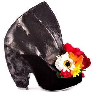 NEW-DAN-SULLIVAN-Irregular-Choice-We-Found-Love-Black-Ankle-Boot-Bootie-38