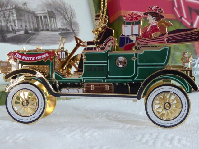 2012 White House Christmas Ornament W Taft First ...