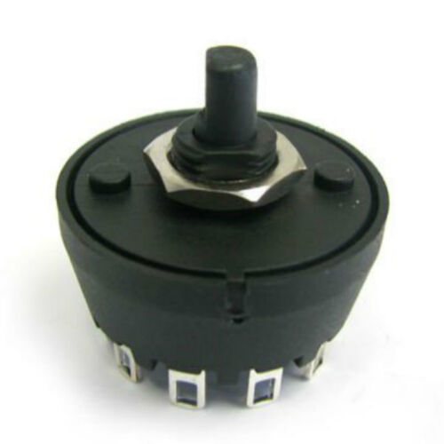 SP4T Rotary Switch MFR01 1 Pole 4 Position Switch and 27mm Knob
