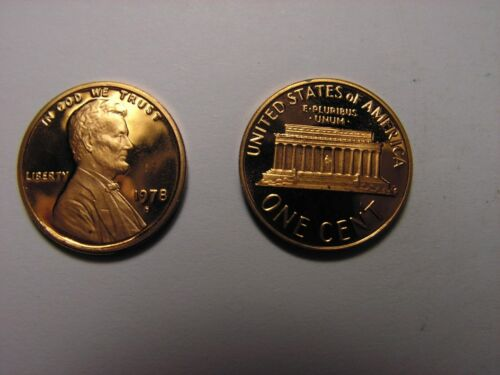 Condition Looks To Be In Unc S Lincoln One Cent Proof 1978