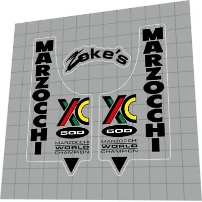 Decal Set MARZOCCHI DH3 Fork Sticker