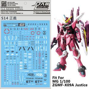 For Bandai MG SAZABI VER.KA Gundam Model Decal Water Slide Decal Paste Sticker