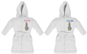Peter-Rabbit-Personalised-Super-Soft-Fleece-Dressing-Gown-White